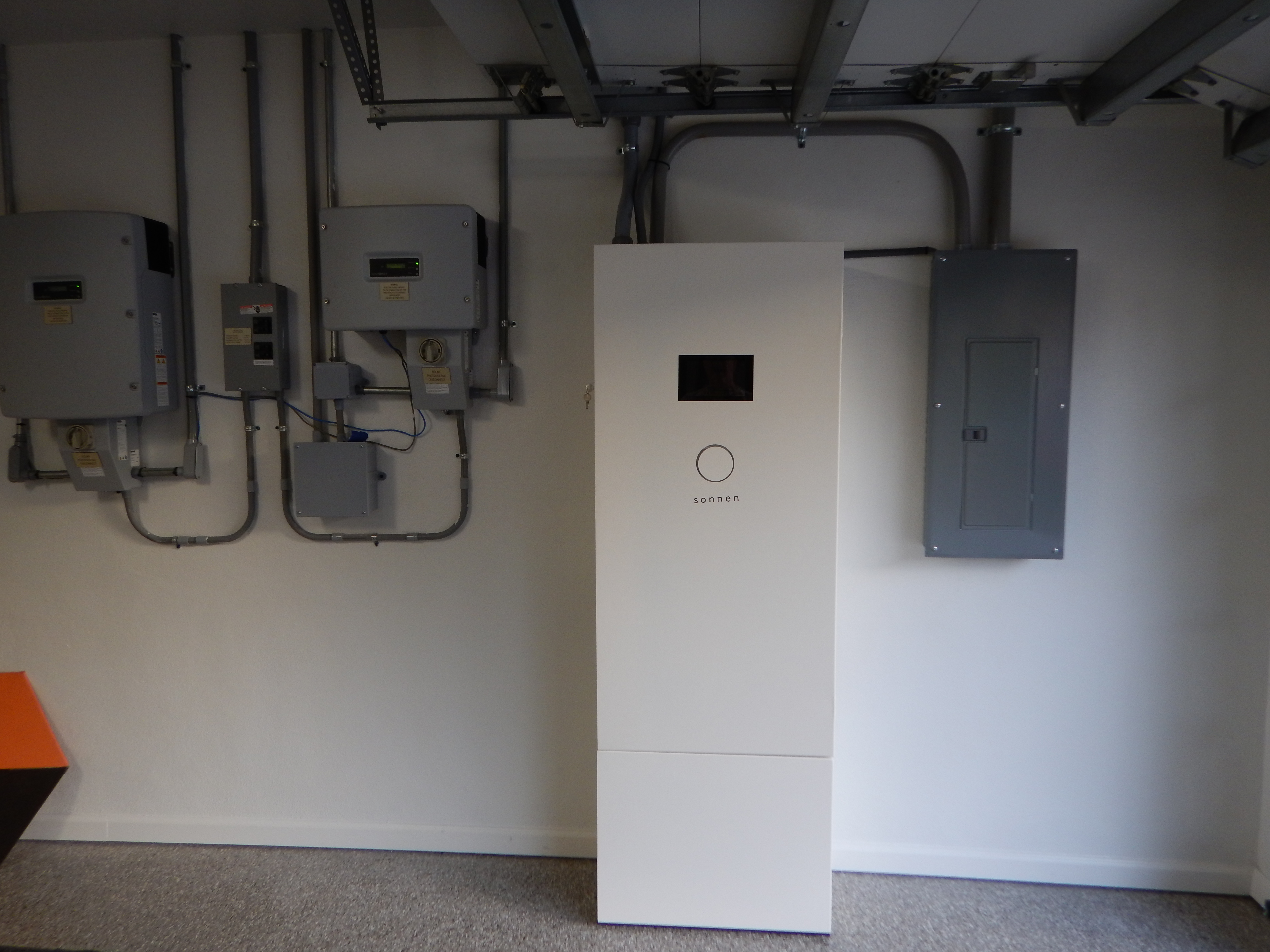 Sonnen battery backup unit and #4 - individual 2kWh Sonnen batteries
