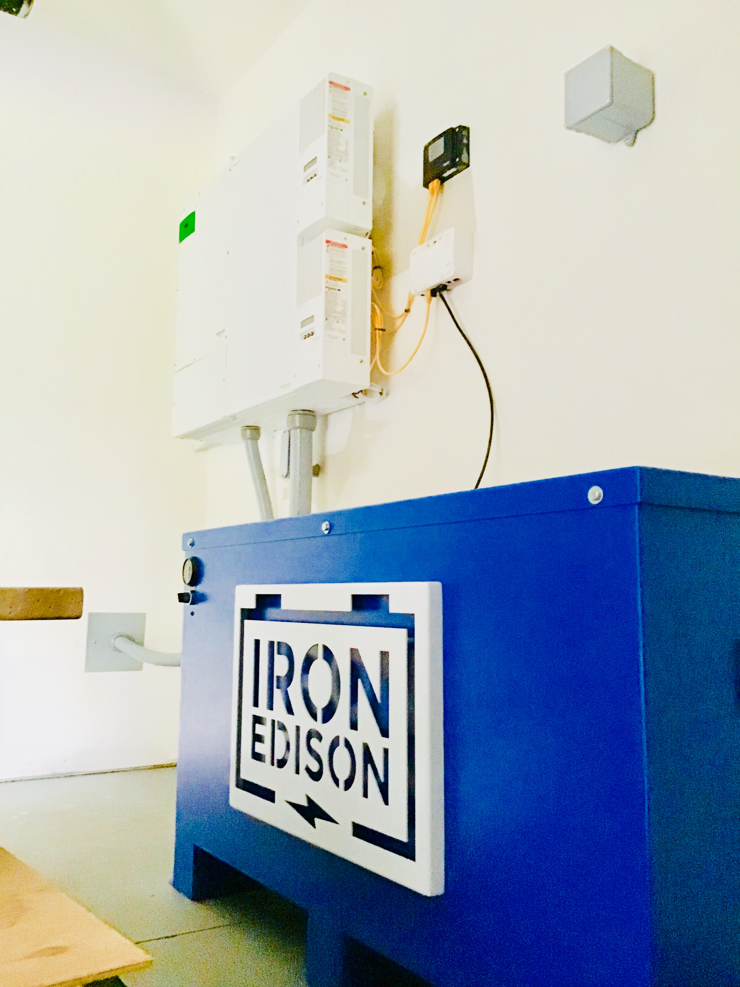 IronEdison battery off grid system